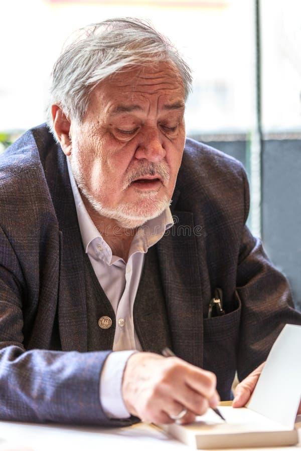 Ilber Ortayli - Turecki historyk fotografia royalty free