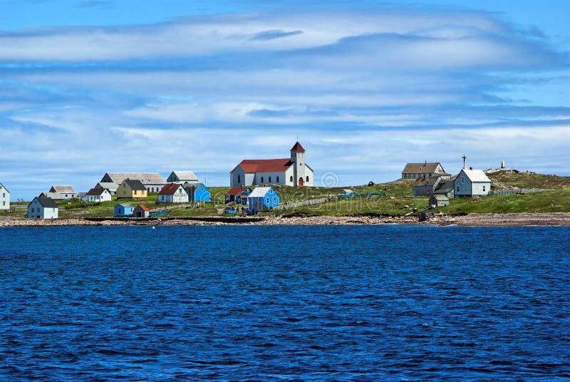 Ile aux marins, St-Pierre et Miquelon royalty free stock photography