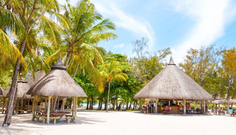 Ile Cerfs Aux wyspy turystyczny kurort zdjęcia stock