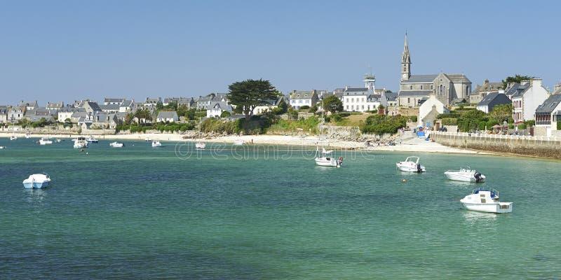 Ile DE batz in Bretagne royalty-vrije stock fotografie
