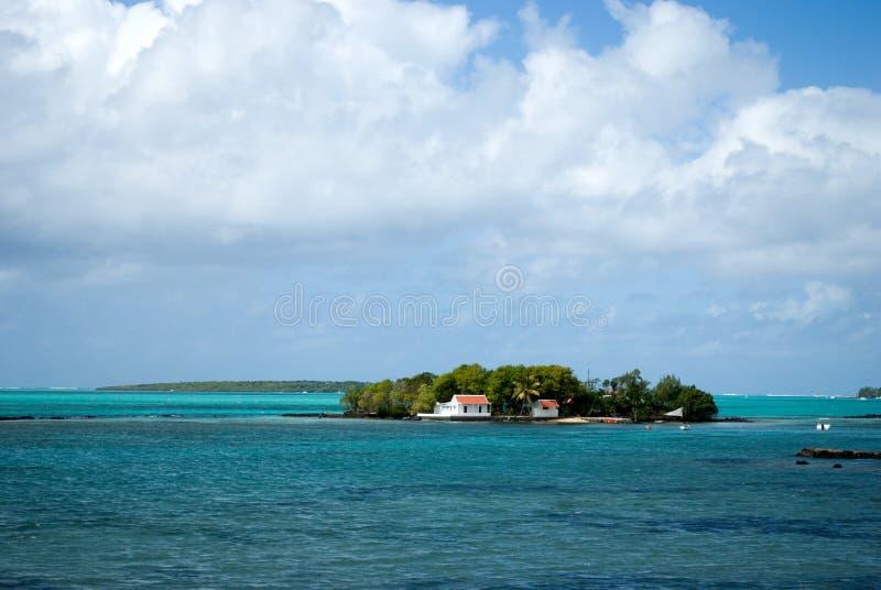 Ile de la Passe - les Îles Maurice images stock
