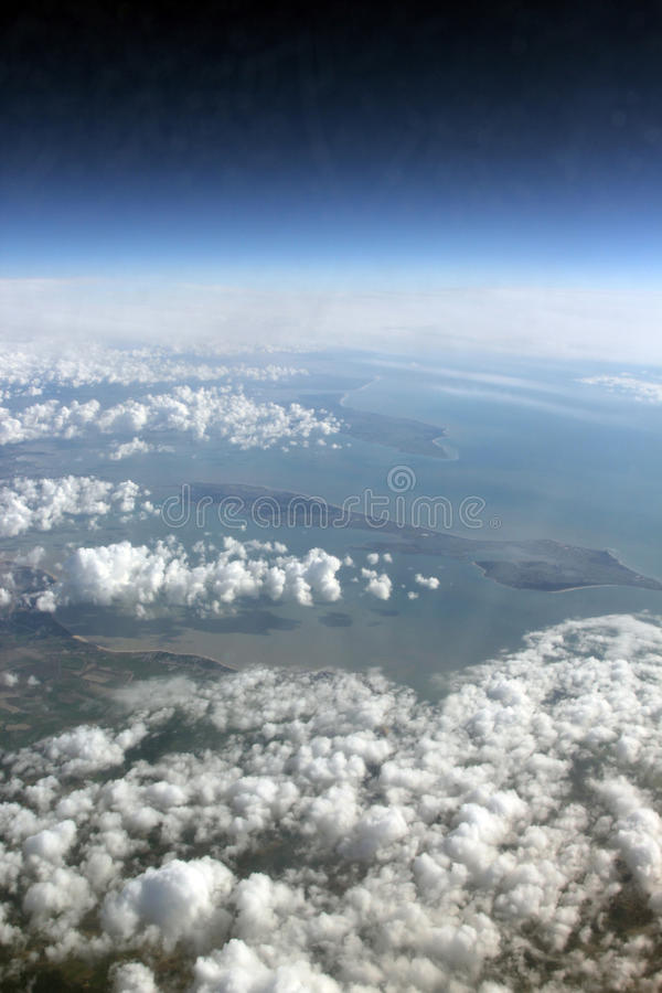 Ile de Re in the bay of biscay royalty free stock photos