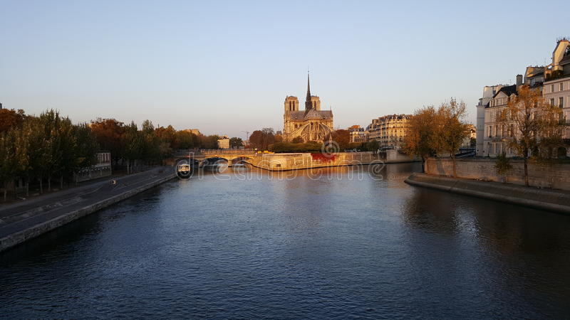 Ile di Parigi di Parigi fotografie stock