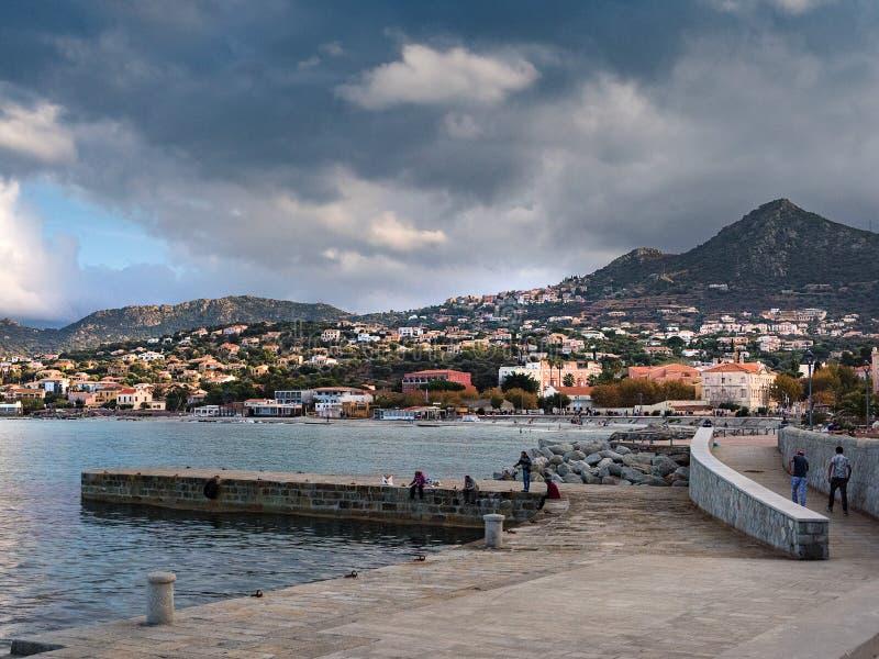 Ile Rousse, Corsica fotografie stock libere da diritti