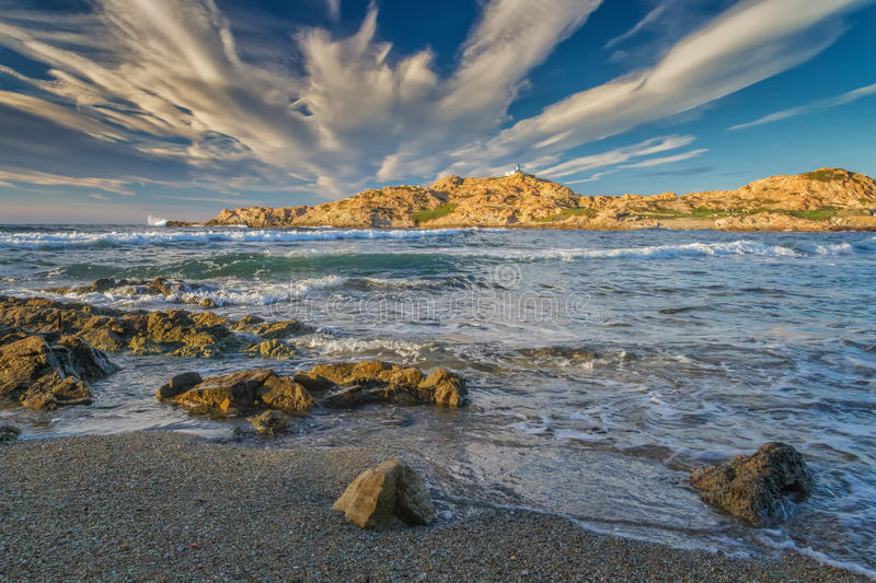 Download Ile Rousse Lighthouse In Corsica Stock Photo - Image: 37156906