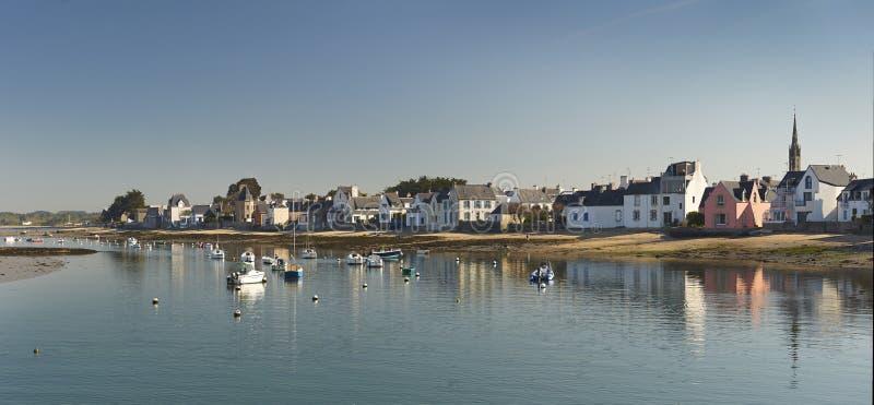 Ile tudy w Brittany zdjęcia stock