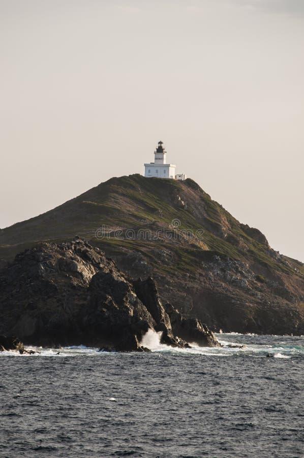 Iles Sanguinaires, golfo de Ajacio, Córcega, Corse, Francia, Europa, isla fotos de archivo libres de regalías