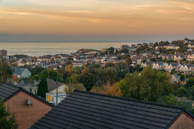 Ilfracombe, Devon, Inghilterra, Regno Unito fotografie stock libere da diritti