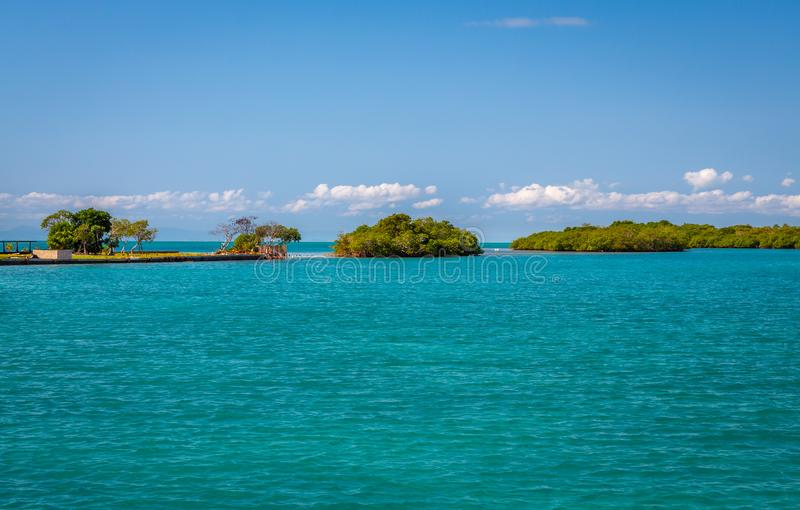 Ilha Belize imagens de stock