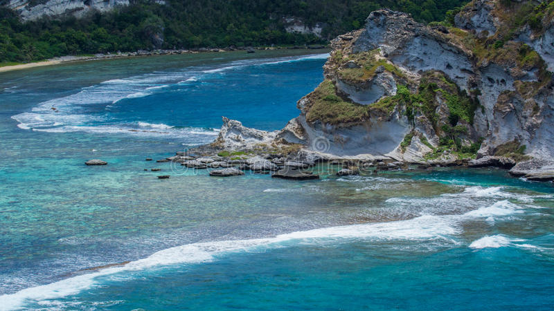 A ilha bonita de Saipan foto de stock royalty free