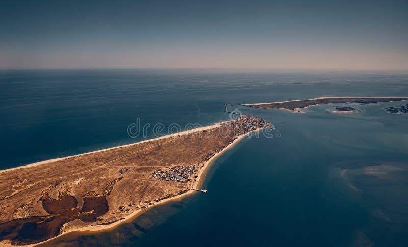 Ilha da Culatra,法鲁 库存照片
