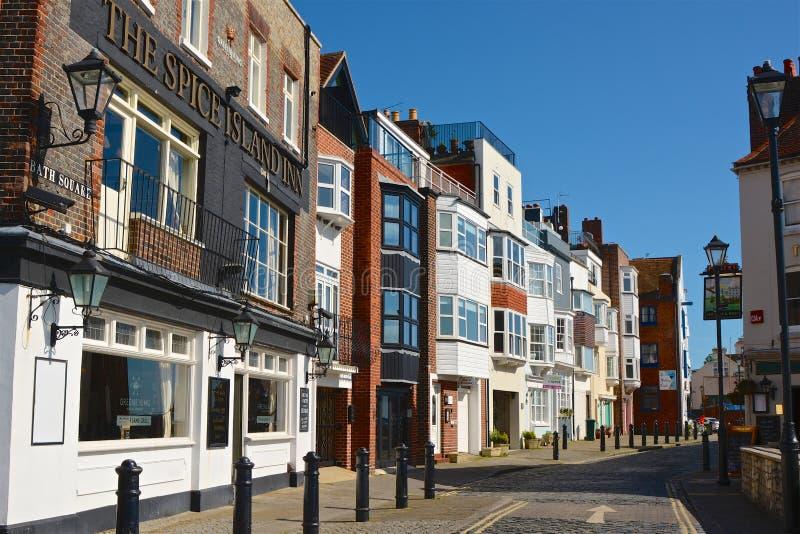 Ilha da especiaria, Portsmouth, Inglaterra imagem de stock royalty free