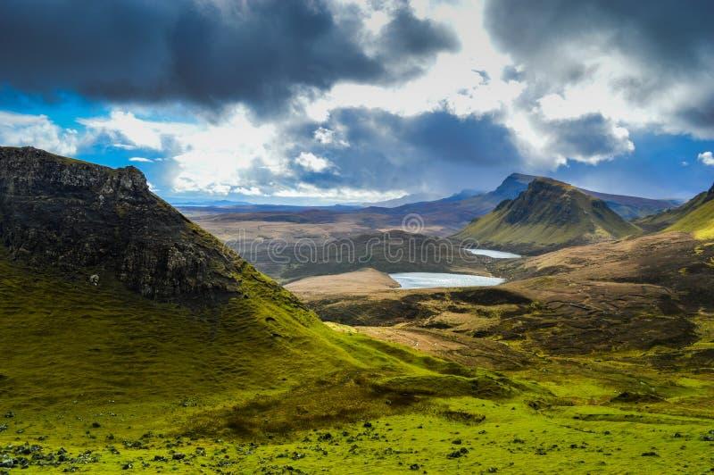 Ilha da paisagem de Skye fotografia de stock royalty free