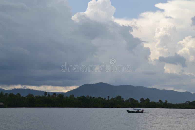 Ilha da seda em Camboja foto de stock royalty free