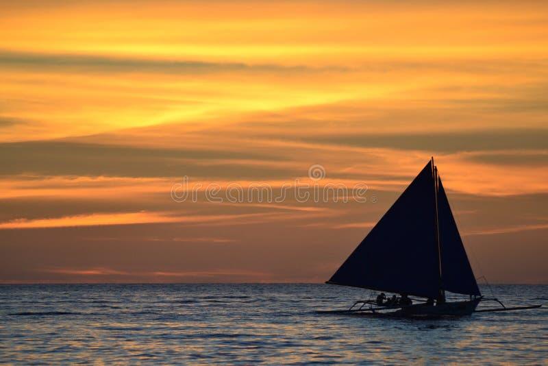 Ilha de Boracay, Filipinas imagem de stock royalty free