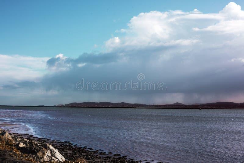 Ilha de Bull, Dublin, Irlanda fotos de stock royalty free