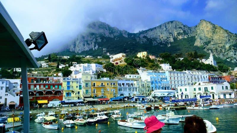 Ilha de Capri fotos de stock