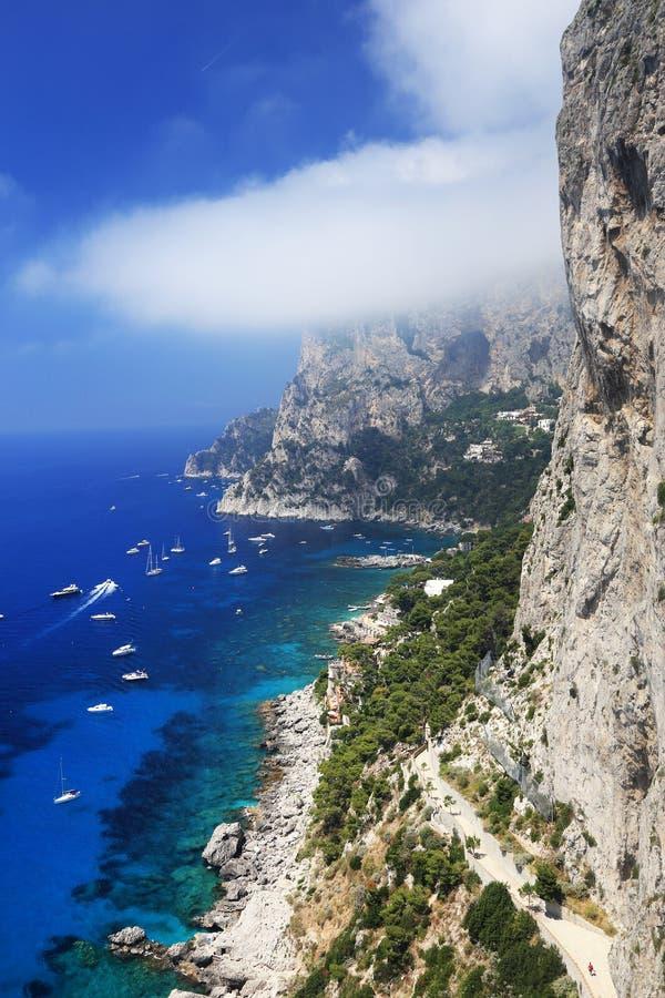 Ilha de Capri, Itália, Europa imagens de stock royalty free