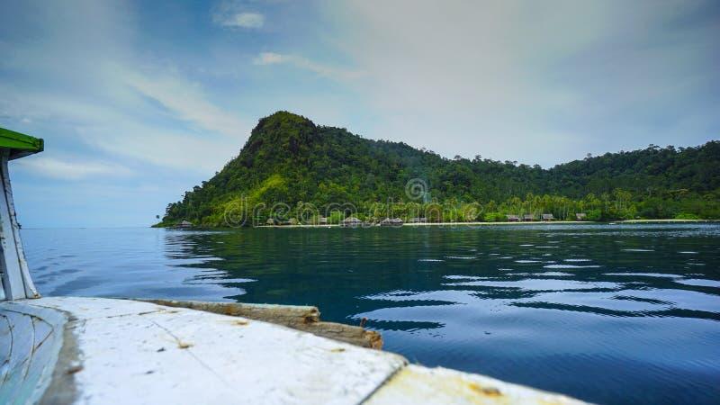 Ilha de Cubadak foto de stock