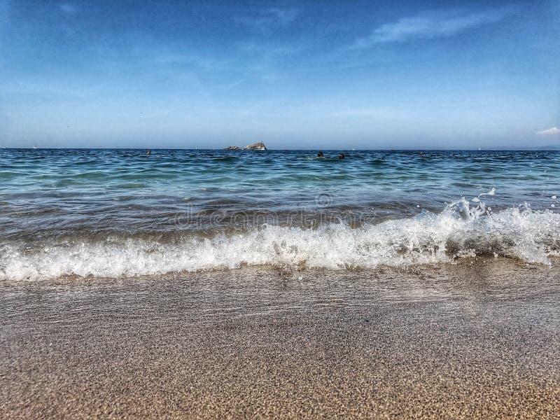 ` A Ilha de Elba de Isola d imagens de stock