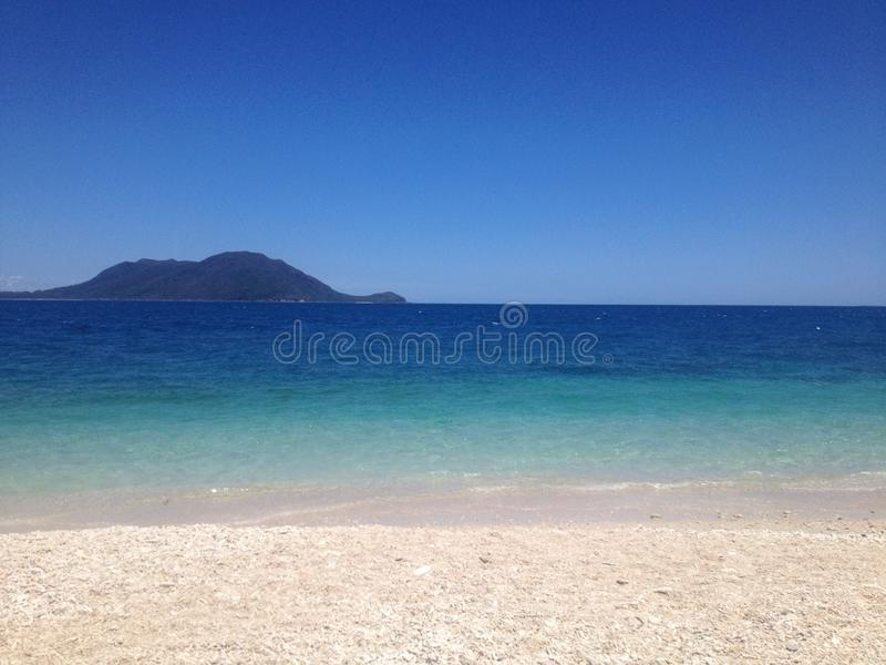 Ilha de Fitzroy fotografia de stock royalty free