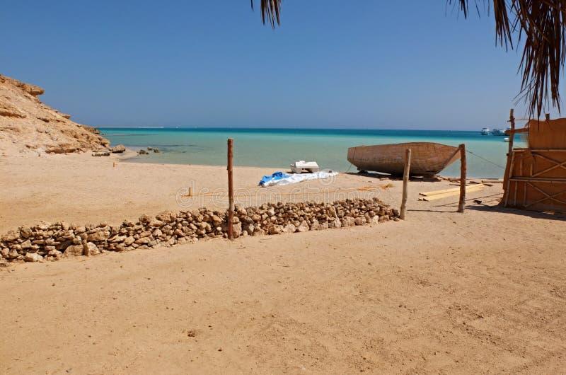 Ilha de Giftun fotografia de stock