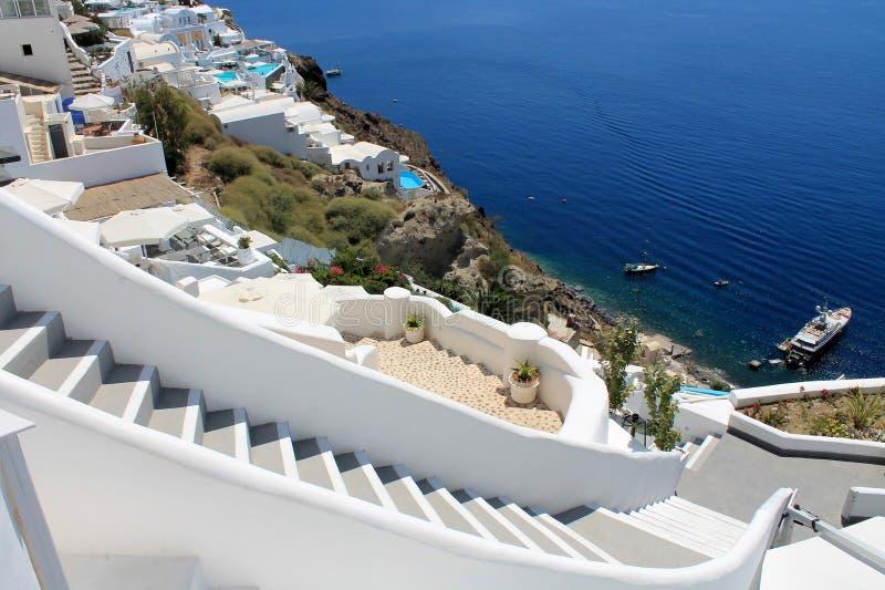 Ilha de Grécia Santorini fotografia de stock
