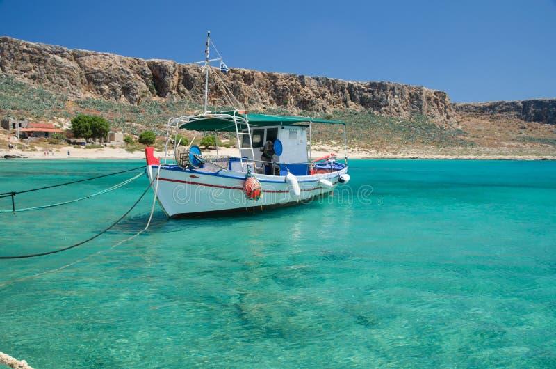 Ilha de Gramvousa de Grécia foto de stock