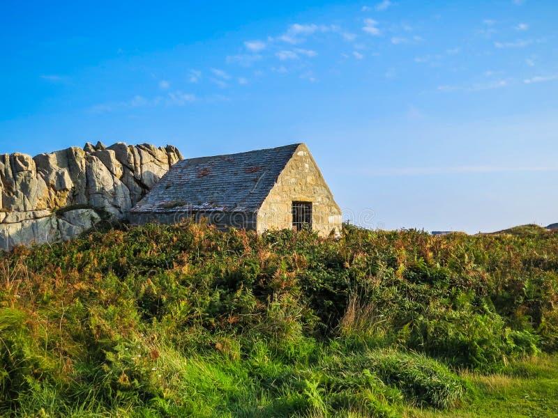 Ilha de Guernsey fotos de stock