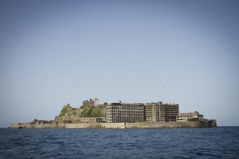 Ilha de Hashima fotos de stock
