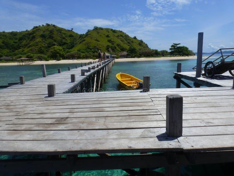 Ilha de Kanawa imagens de stock royalty free