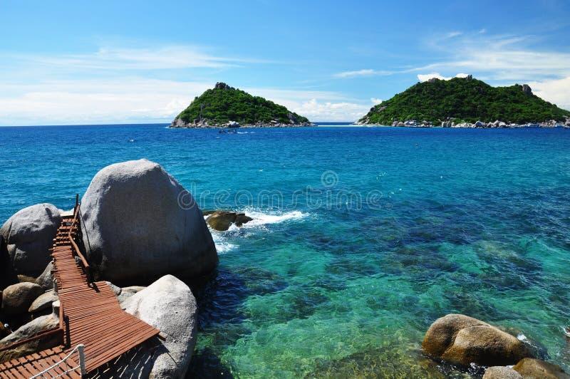 Ilha de Koh Tao, Tailândia imagens de stock royalty free