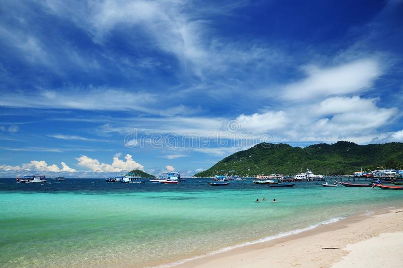 Ilha de Koh Tao, Tailândia fotografia de stock royalty free
