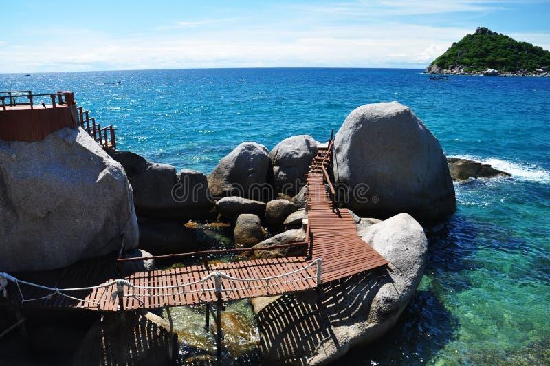 Ilha de Koh Tao, Tailândia imagem de stock royalty free