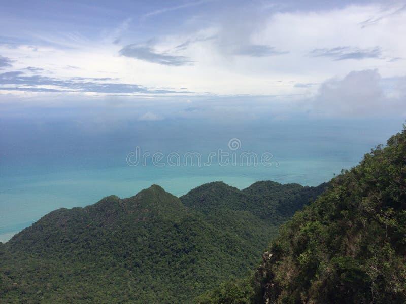 Ilha de Langkawi imagem de stock