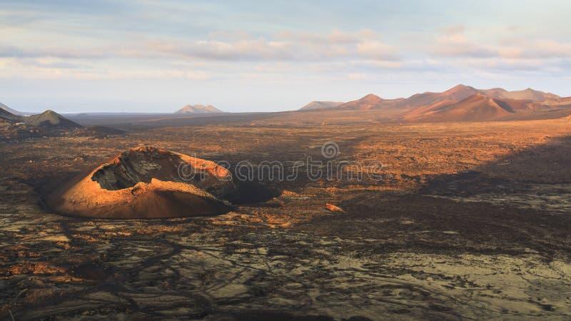 Ilha de Lanzarote foto de stock