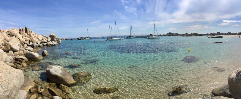 Ilha de Lavezzi fotografia de stock royalty free