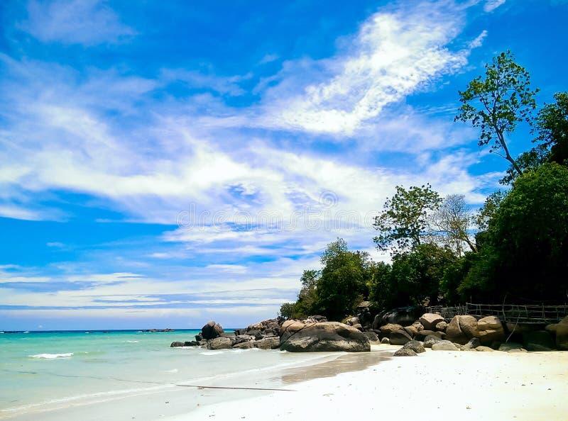 Ilha de Lipe, Satun, Tailândia foto de stock