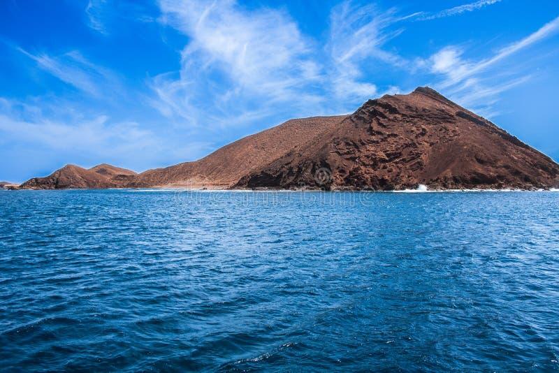 Ilha de Lobos fotografia de stock