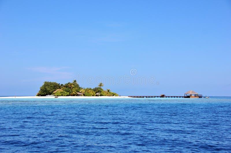 Ilha de Lonubo, Maldivas foto de stock