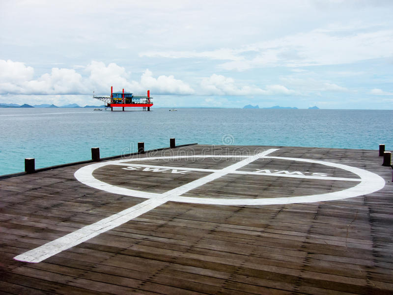 Ilha de Mabul foto de stock