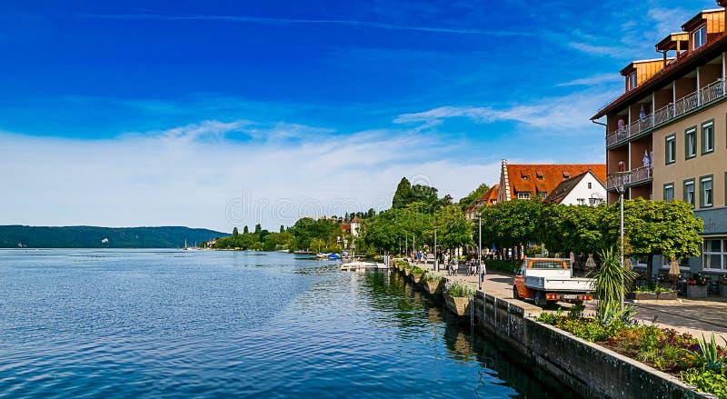 A ilha de Mainau no lago Constance imagens de stock royalty free