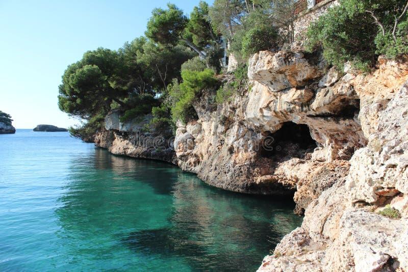 Ilha de Mallorca fotografia de stock