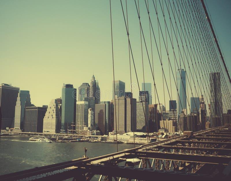 A ilha de Manhattan imagens de stock royalty free