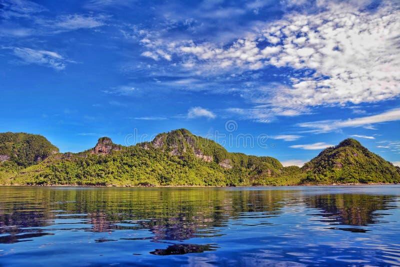 Ilha de Misool foto de stock