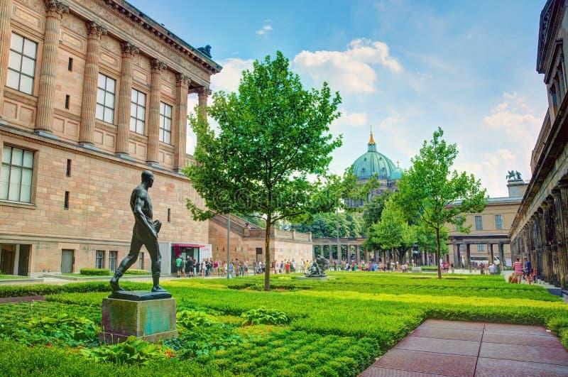 Ilha de museu, Berlim, Alemanha fotografia de stock