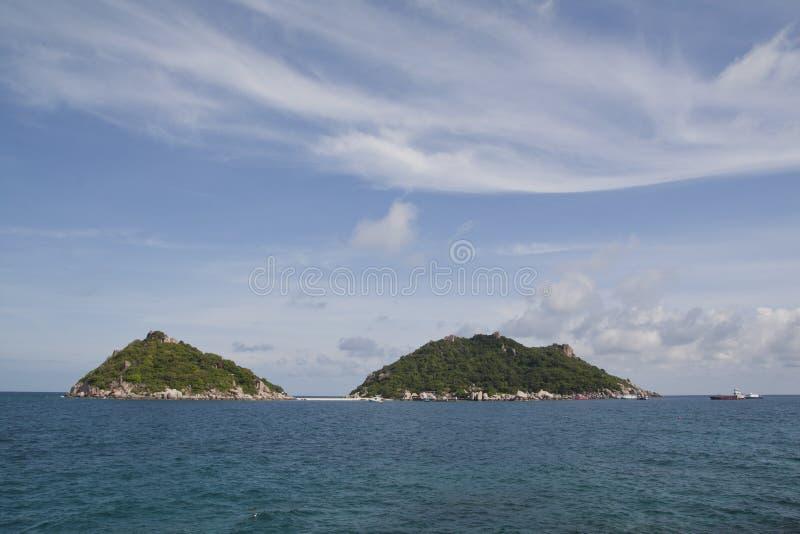 Ilha de Nangyaun imagem de stock