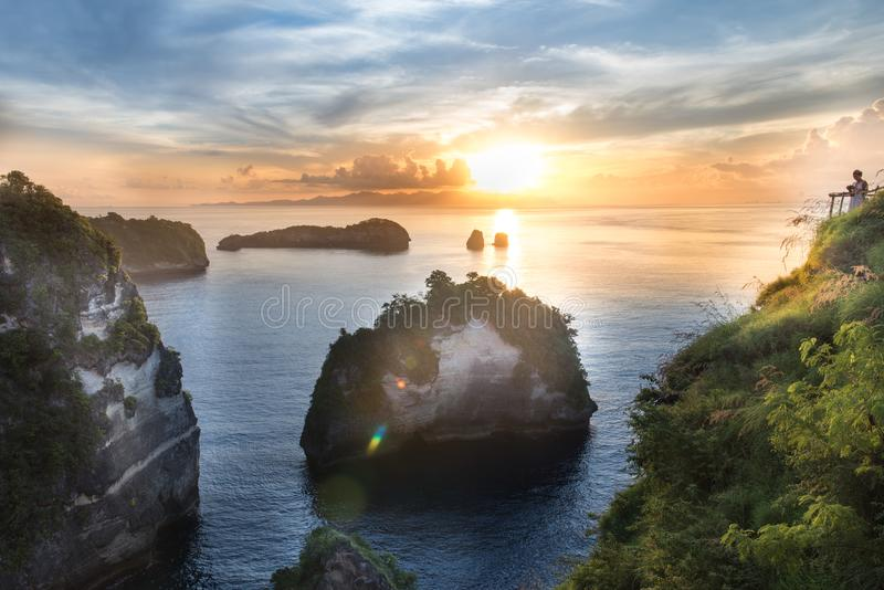 Ilha de Nusa Penida foto de stock royalty free