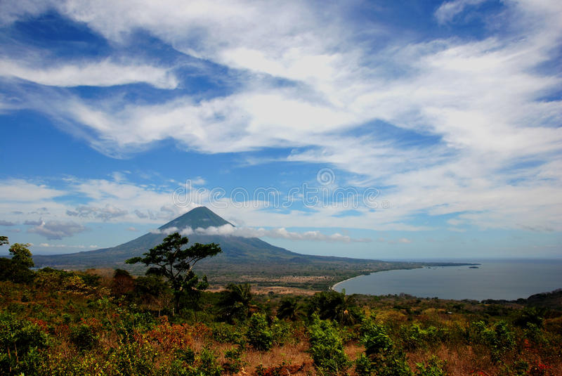 Ilha de Ometepe imagem de stock royalty free