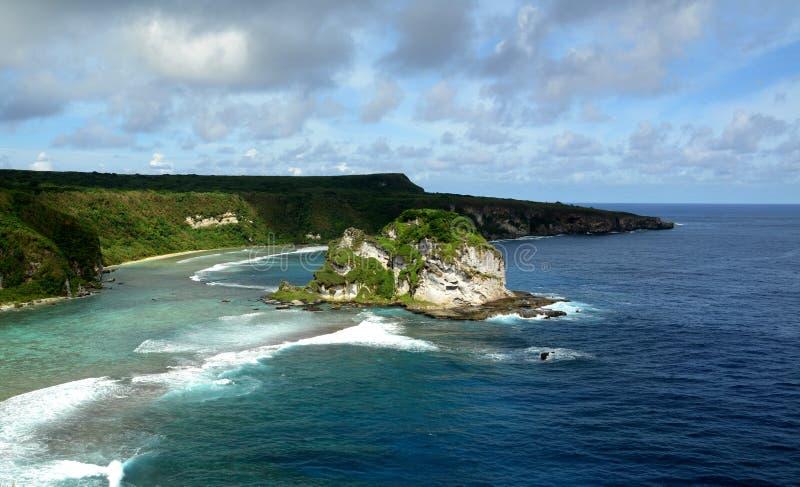 Ilha de pássaro Saipan fotografia de stock royalty free